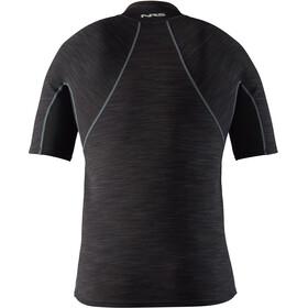 NRS HydroSkin 0.5 Short Sleeve Shirt Herre black